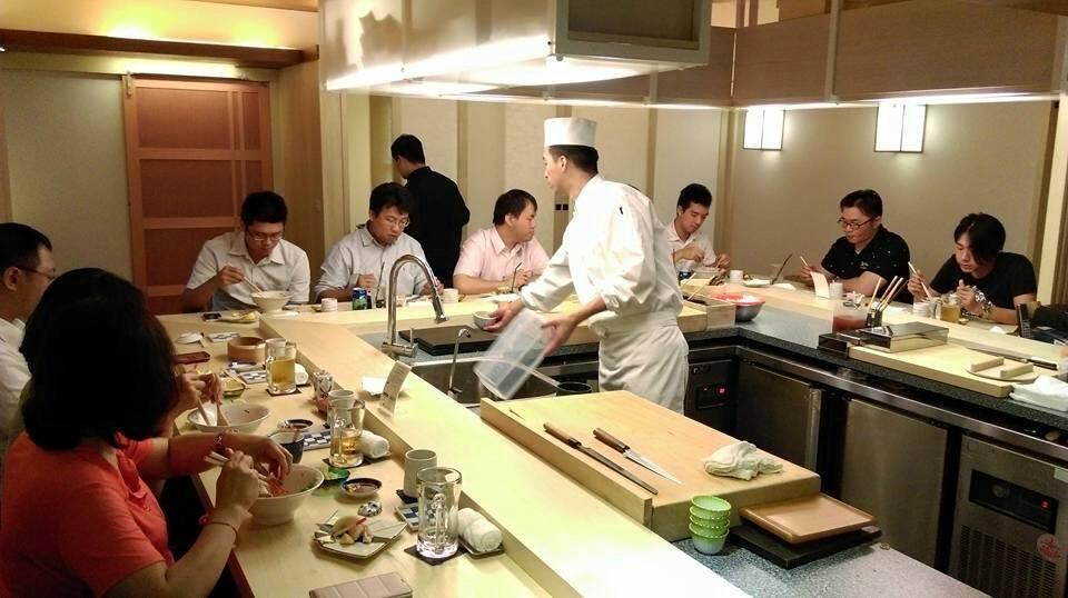 松菸商圈知名日本料理質感裝潢